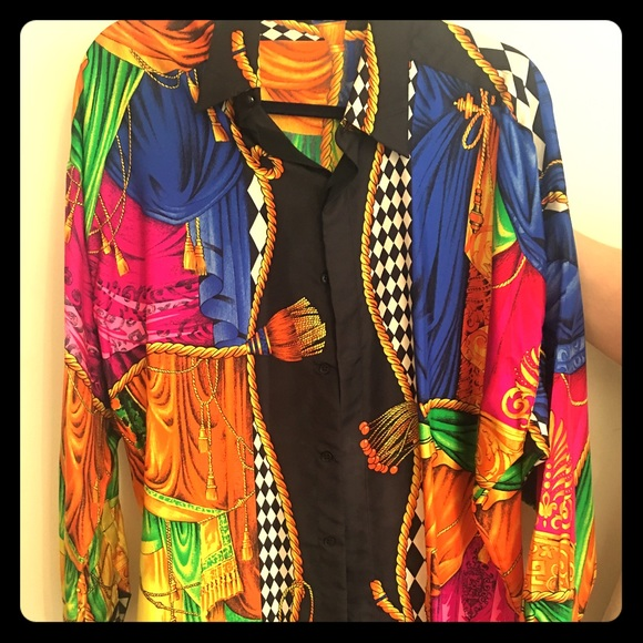 Gianni Versace Men's Silk Shirt