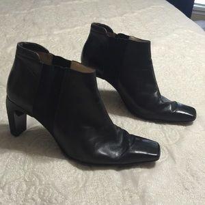 Fabulous Chanel Retro Leather Booties