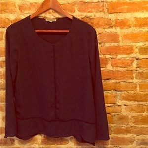•Pleione• for Nordstrom Long Sleeve Top