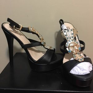 NIB, never worn, Mariah heels!