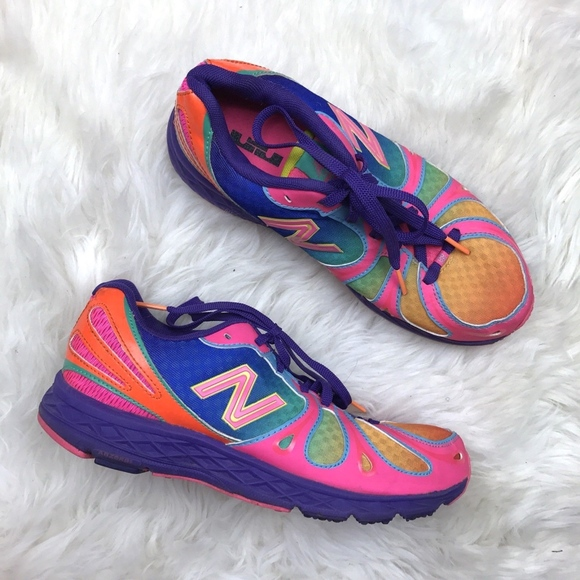 New Balance 890v3 Rainbow Running Sneakers