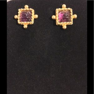 Jewelry - VINTAGE YOSCA EARRINGS....SIGNED Closet Clear Out