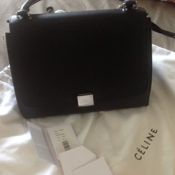 Celine Handbags - Celine trapeze New! Perfect condition