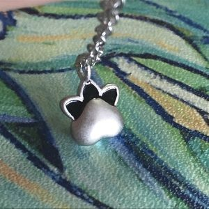 Jewelry - Sterling Silver Cat Paw Necklace