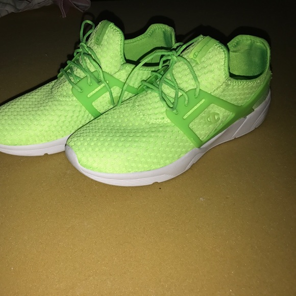 Champion Shoes Brand New Size 9 Neon Green Tennis Poshmark