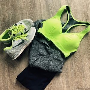 Grey Nike Tennis Shoes