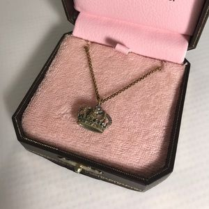 Juicy Couture Jewelry - Juicy Couture Gold Silver Crown Necklace