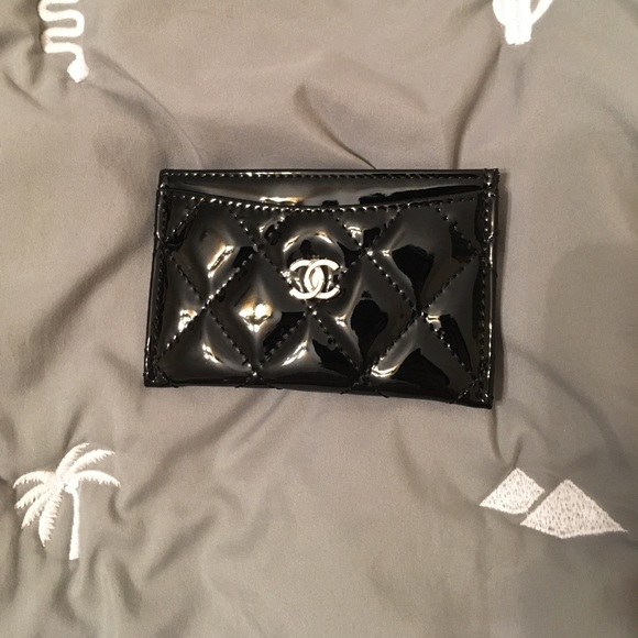 c6ae20a1a0a7bb CHANEL Bags | Patent Vip Gift Card Holder | Poshmark