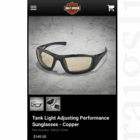 8098784fa93 Harley Davidson Wiley X Mens Tank Sunglasses