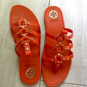 Tory Burch Vaugh Jelly Gladiator Sandals
