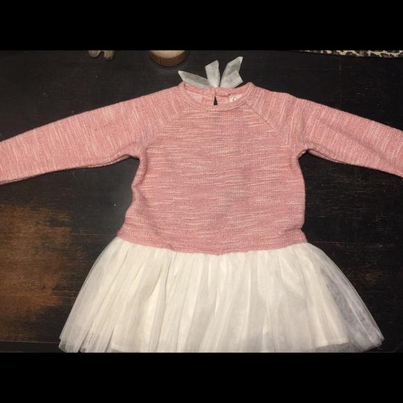 Jessica Simpson Dresses 24 Month Baby Girl Pink Dress Tutu Poshmark