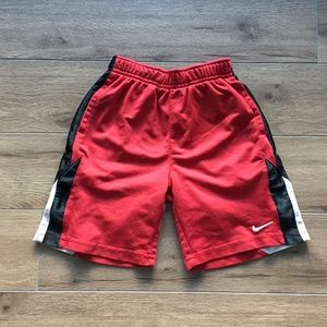 Nike Dri-Fit Boys Toddler 4T Shorts Athletic Red