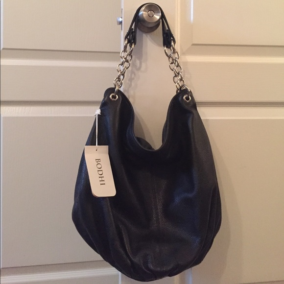 Bodhi Handbags - NWT Bodhi Large Leather Hobo Bag
