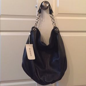 NWT Bodhi Large Leather Hobo Bag