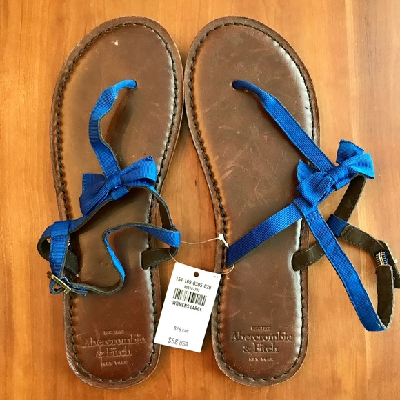 d4a1a2b3a17 Abercrombie   Fitch Women s Leather Sandals