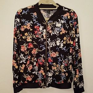 Jackets & Blazers - Floral track jacket