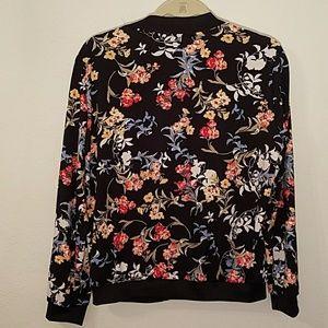 Jackets & Coats - Floral track jacket