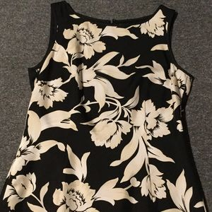 Ann Taylor silk sleeveless dress