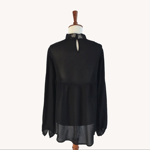 Free People Tops - High Neck Blouse