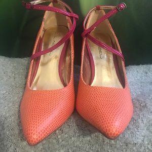C Label Shoes - C. Label melon colored heels