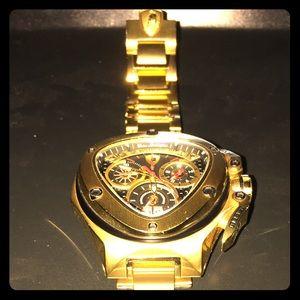 Tonino Lamborghini Accessories Spyder Watch Matte Gold Black