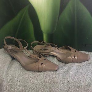 Liz Baker Shoes - Liz Baker grey sling back pump