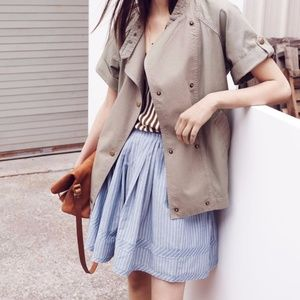 Madewell Pleated Shirt