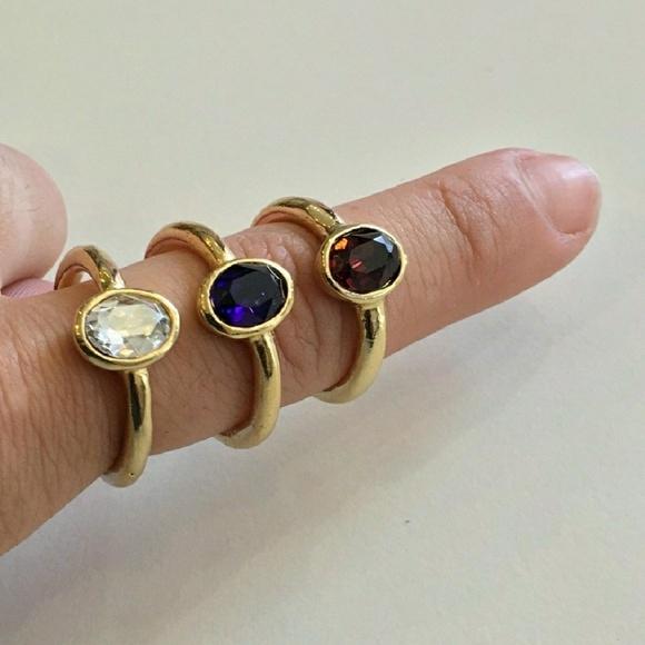 Jessica Elliot Jewelry - 💍 NEW Swarovski Round Solitare Rings💍