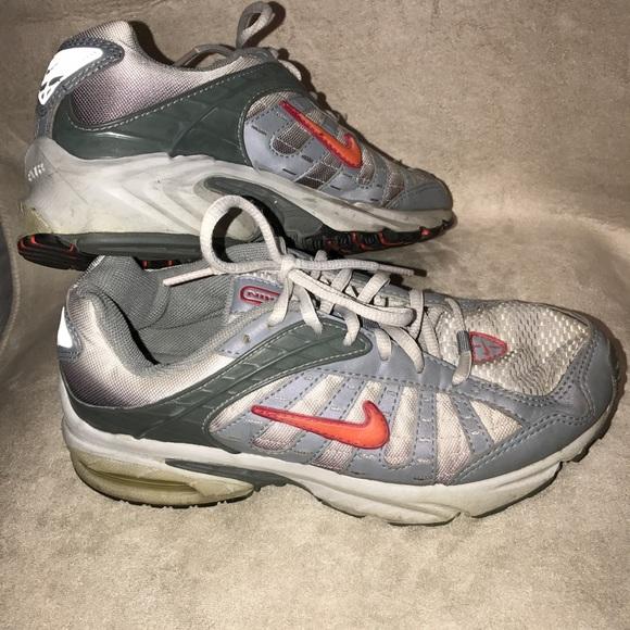 Nike Shoes Air Brs 1000 Silver Grey W Pinkorange Poshmark