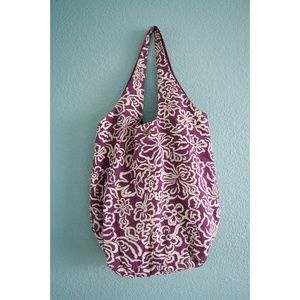 AEO | Floral Reversible Slouchy Tote Bag