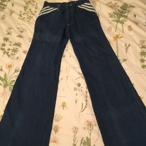 viceroy Jeans - Vintage Women's Viceroy 70's Bellbottoms