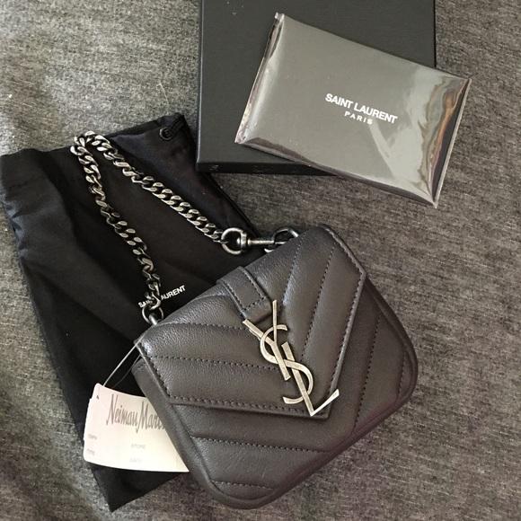 21aa8af76984 NWT YSL Saint Laurent College Mini Bag