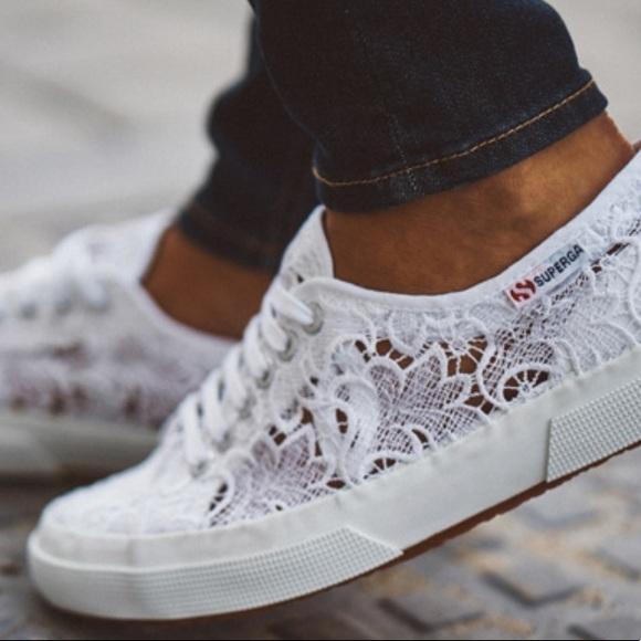 Superga Macrame Sneakers Nib