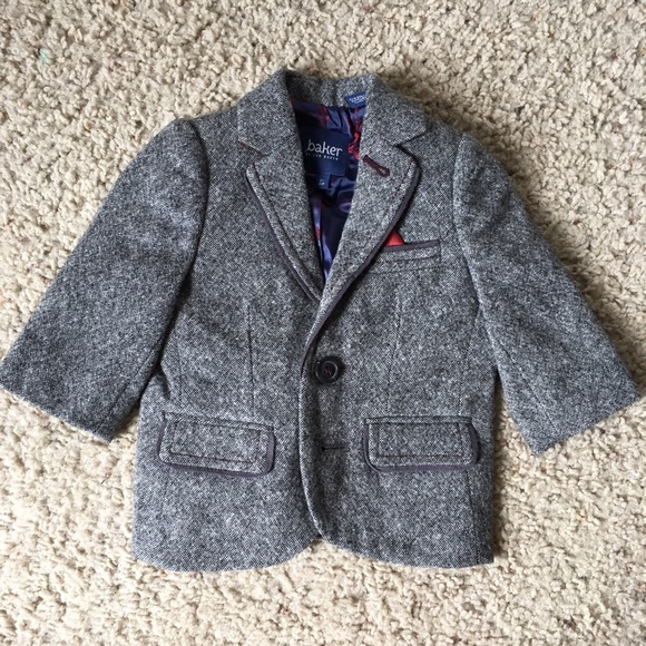 5a0c7bc7c Baker by Ted Baker Other - NWOT Bakers 0-3 month baby boy blazer