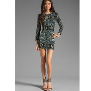 Indah Vida Open Back Day To Night Mini Dress