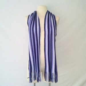 SOFT Striped Winter Scarf