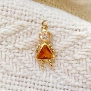 Jewelry - Girl birthstone pendant