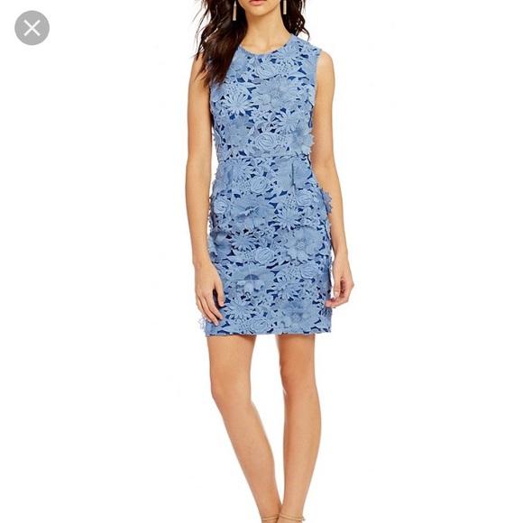 67d1ead71a7d9 French Connection Dresses | New Manzoni 3d Floral Lace Dress | Poshmark