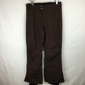 Brown Columbia ski/snow pants sz Small