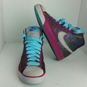 NIKE BLAZER HIGH PURPLE/PINK WOMEN SHOES