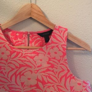 J. Crew Tops - J. Crew Seamed Shell in Plumeria Jaquard