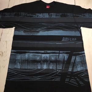 🆕Youth Quiksilver Stripe T-Shirt