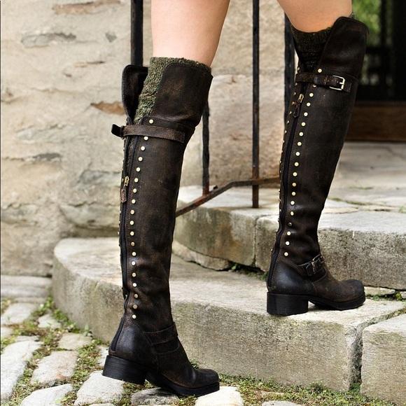 9fec01c7d9c09 Tory Burch Tarulli Over-The-Knee boots 8.5. M 5983e3ef7fab3a993700db2d