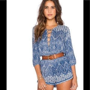 NWT Auguste the Label Nomad Romper