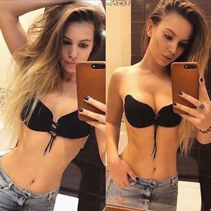 Other - 2pc silicone self-adhesive Invisible Bra