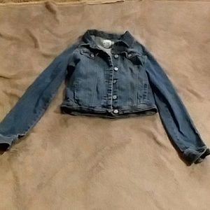 Old Navy girls size 14 jean jacket