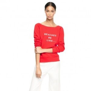 Milly Slogan Sweater