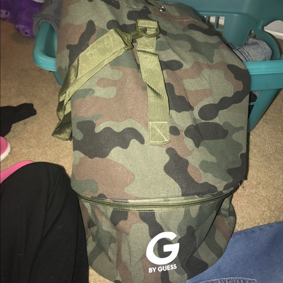 0bfd816f94 G by GUESS camouflage backpack purse