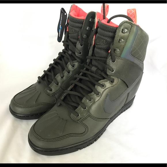 New Nike dunk sky Hi Sneakerboot 2.0 wmns Sz 9.5 23d5b2896