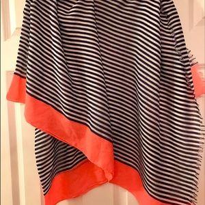Gorjana Accessories - Gorjana striped blanket scarf